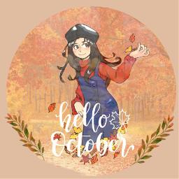 october hellooctober fall2019 autumn freetoedit