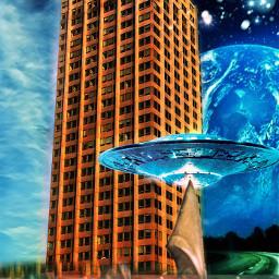 freetoedit skyscraper imagination universe earth