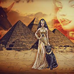 egipcia fantasy tumblr piramides