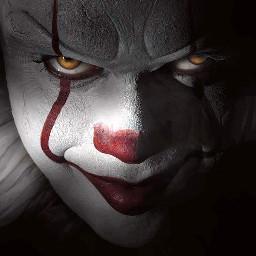 it itchaptertwo horror halloween clown freetoedit