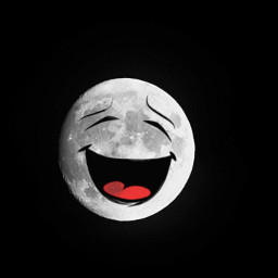 stickers moon funedit freetoedit