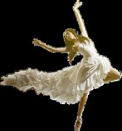 dancer ballerina dress woman whitedress freetoedit