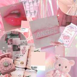 pink aestheticpink aesthetic angel freetoedit