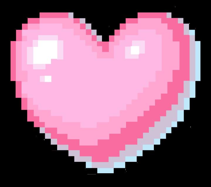 #adesivo #sticker #png #pngsticker #heart #picxel #pixel #tumblr #kauai #kawai #red #vermelho #hearted #redheart #preto #black #❤ #🖤 #💖 #pink #rosa #pinkheart #kawaii #cuti #cutie #cutie😍