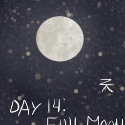 moon myart drawing mydrawjng space