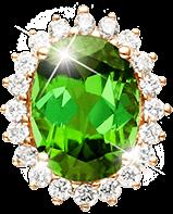 green gold diamond gem gemstone freetoedit