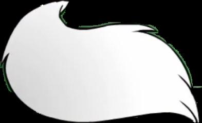 tail white gacha free uwu freetoedit