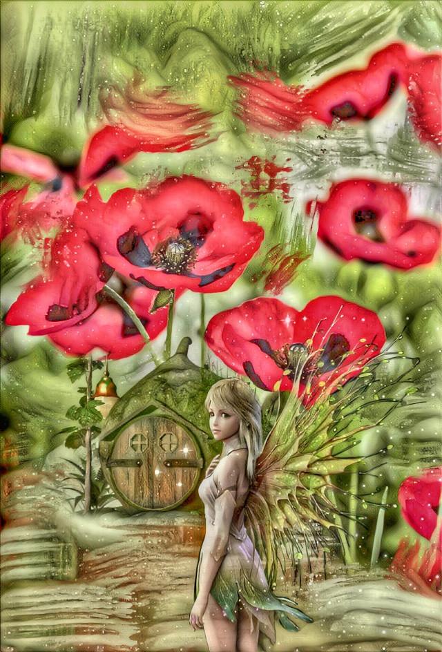 #freetoedit #vipshoutout to @piroskab #multipleeffects #picsarteffects #fairygarden #fantasy