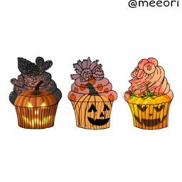 irccupcakes cupcakes freetoedit october halloween