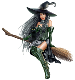 girl witch halloween horror fly freetoedit scwitches