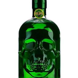 freetoedit halloween halloweendecorations skull green
