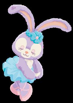 stellalou disney friends bunny dancing freetoedit