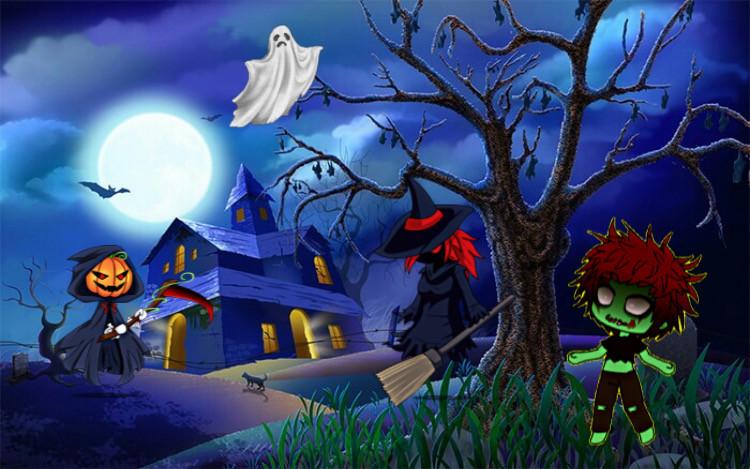 Haunted House  #ecgachalifehalloweenoc #gachalifehalloweenoc #freetoedit