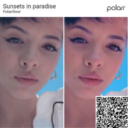 sunsets paradise polarr