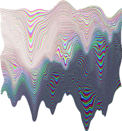 holographic glitch abstract aesthetic ftestickers freetoedit