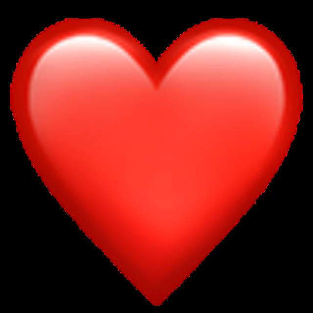 #freetoedit #emoji #red #heart #iphone #phone #cute