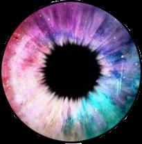 rainbow eye galaxy colour coloureye freetoedit
