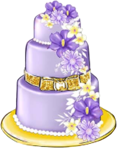 watercolor cake birthday wedding anniversary freetoedit