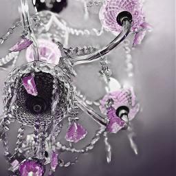 freetoedit chandelier lavender