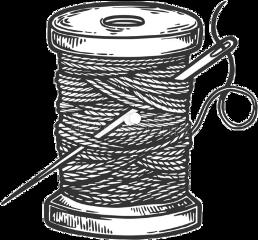 thread needle sew needlethread freetoedit