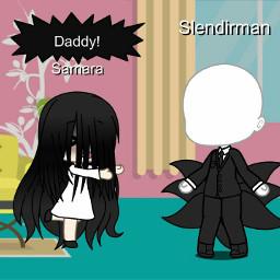 scary samara slenderman