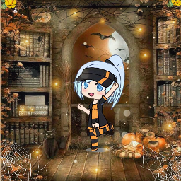 gacha gachalife halloween freetoedit