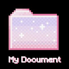 document carpet icon soft pink freetoedit