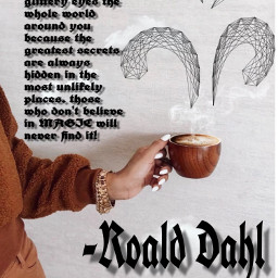 roalddahl clouds quotes coffee