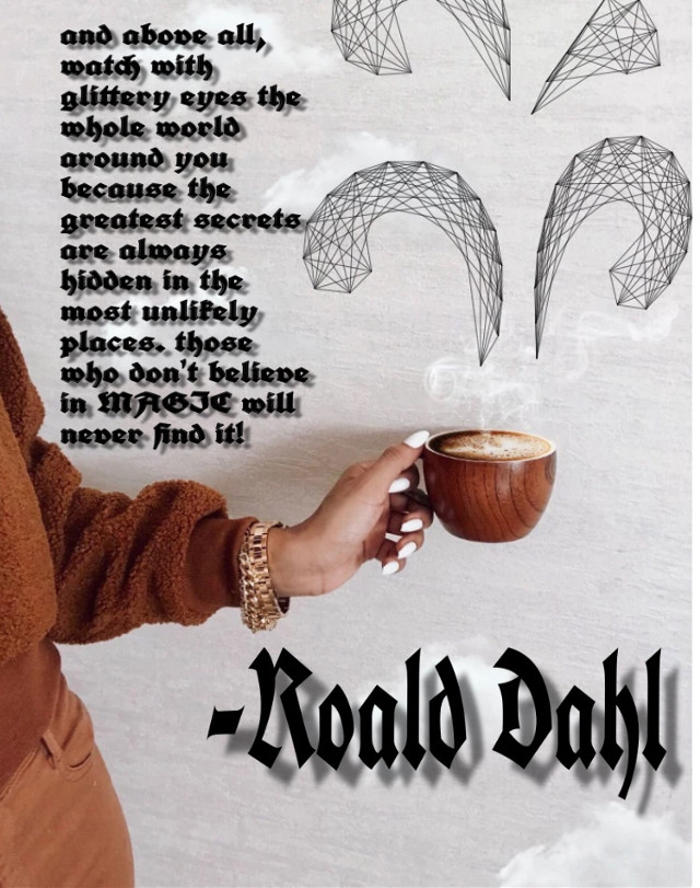 #roalddahl #clouds #quotes #coffee