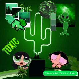 aesthetic aestheticgreen green greenaesthetic alien freetoedit