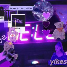 asthetic purple aestheticpurple freetoedit