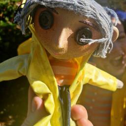 freetoedit coraline doll trickortreat