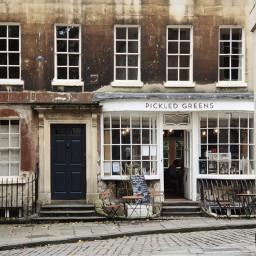 shop shopwindow window pickledgreens england bathengland old retro vintage