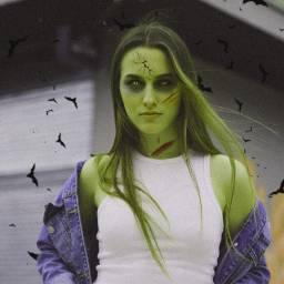 spooky spoookify zombie hueeffect freetoedit