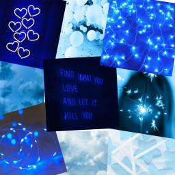freetoedit blue aesthetic