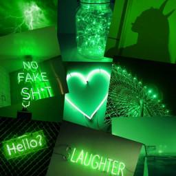 freetoedit green aesthetic