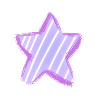 stickers purple star dream freetoedit