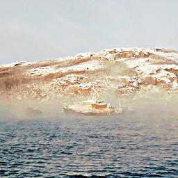 freetoedit ship seaport barque sailboat scenery