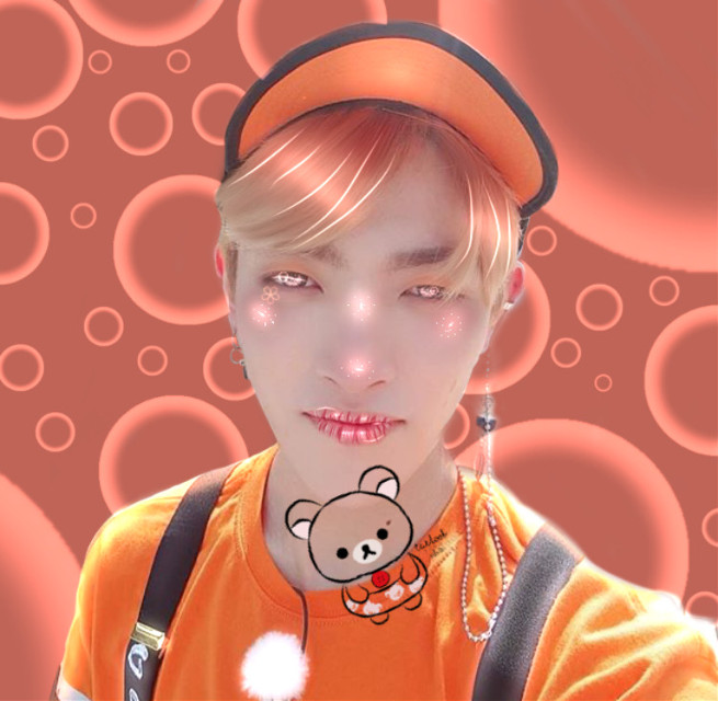 🍊Kim Hongjoong🍊      🎉Quick shoutout to @picassogarden happy birthday🎈    Shoutout:  @kookies-n-milk  Thanks for liking my last post first💝  ===================================                                                                          Tags                                          #ateezhongjoong #hongjoong #ateezedit #ateez #orange #peach #manipulation #manipulationedit