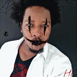 freetoedit happy halloween spiders challenge scaryface echalloweenspirit