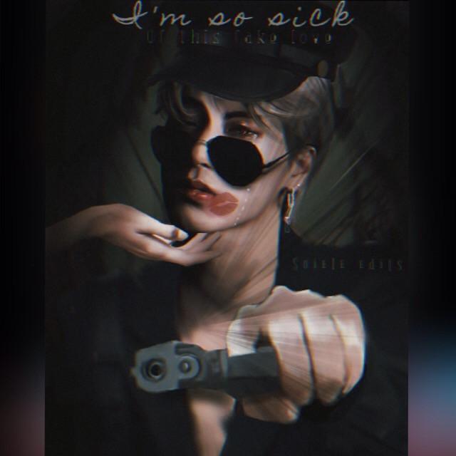 san  #ateezsan #san #ateez #kpop #kpopedit #dark #aesthetic