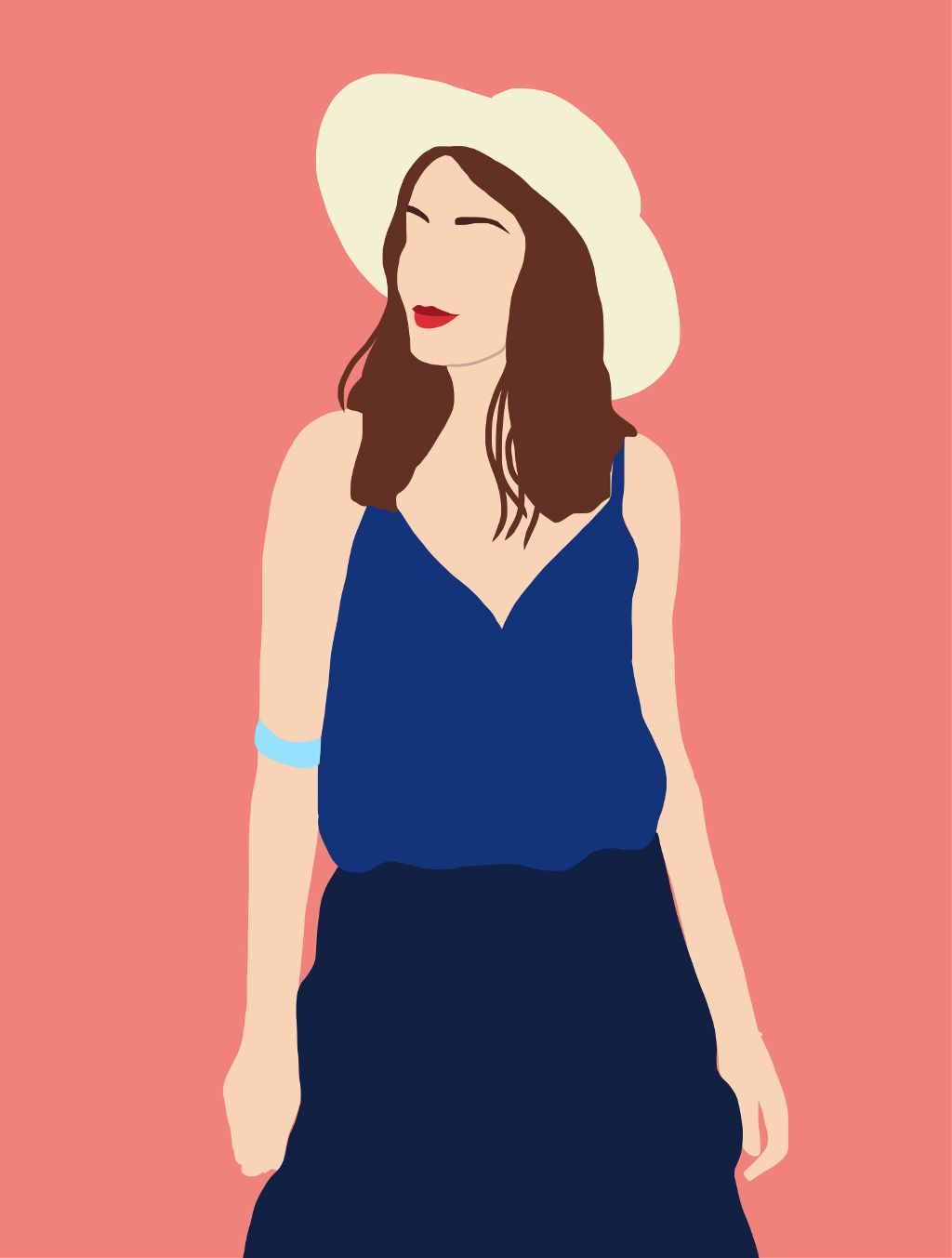#freetoedit #art #arts #girl #woman #drawing #illustration #illustrationoftheday #summergirl #artsy
