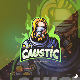 apexlegends apex apexpredator mascotlogo caustic freetoedit