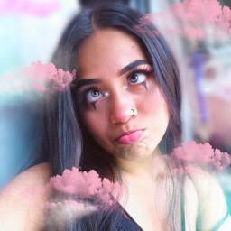 freetoedit angel clouds girly pink