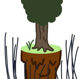 treeart freetoedit dcalonelytree alonelytree