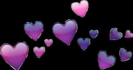 hearts crown smile freetoedit