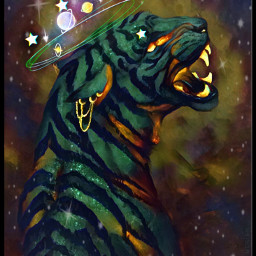 freetoedit galaxy crown jaguar stripes srcgalaxycrown galaxycrown