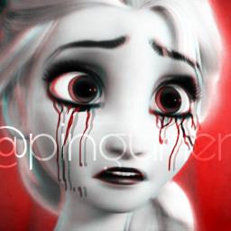 frozen elsa queenelsa queen disney scary