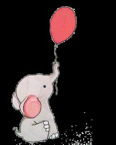 cmbquotes elephant balloon freetoedit