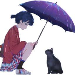 rainanime freetoedit scumbrella umbrella